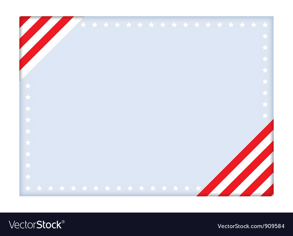 Independence day postcard vector | Price: 1 Credit (USD $1)