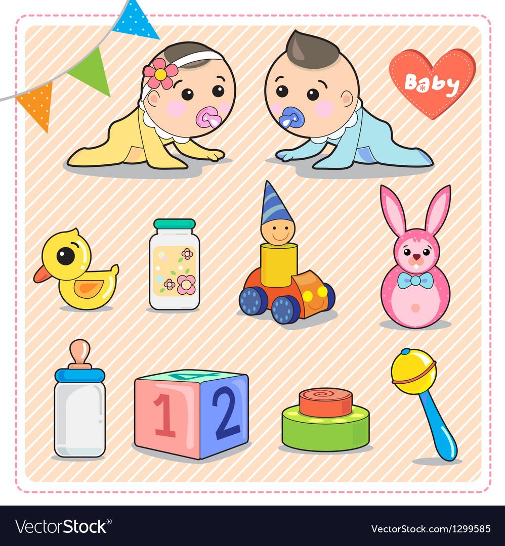 Baby vector | Price: 3 Credit (USD $3)