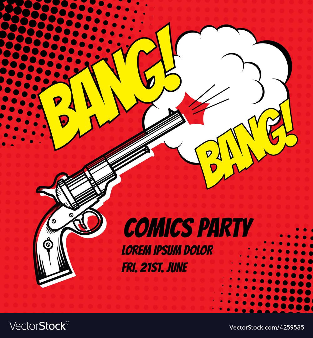 Comic strip vector | Price: 1 Credit (USD $1)