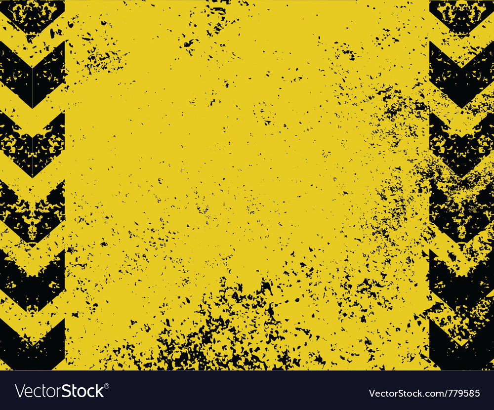 Grungy hazard background vector | Price: 1 Credit (USD $1)