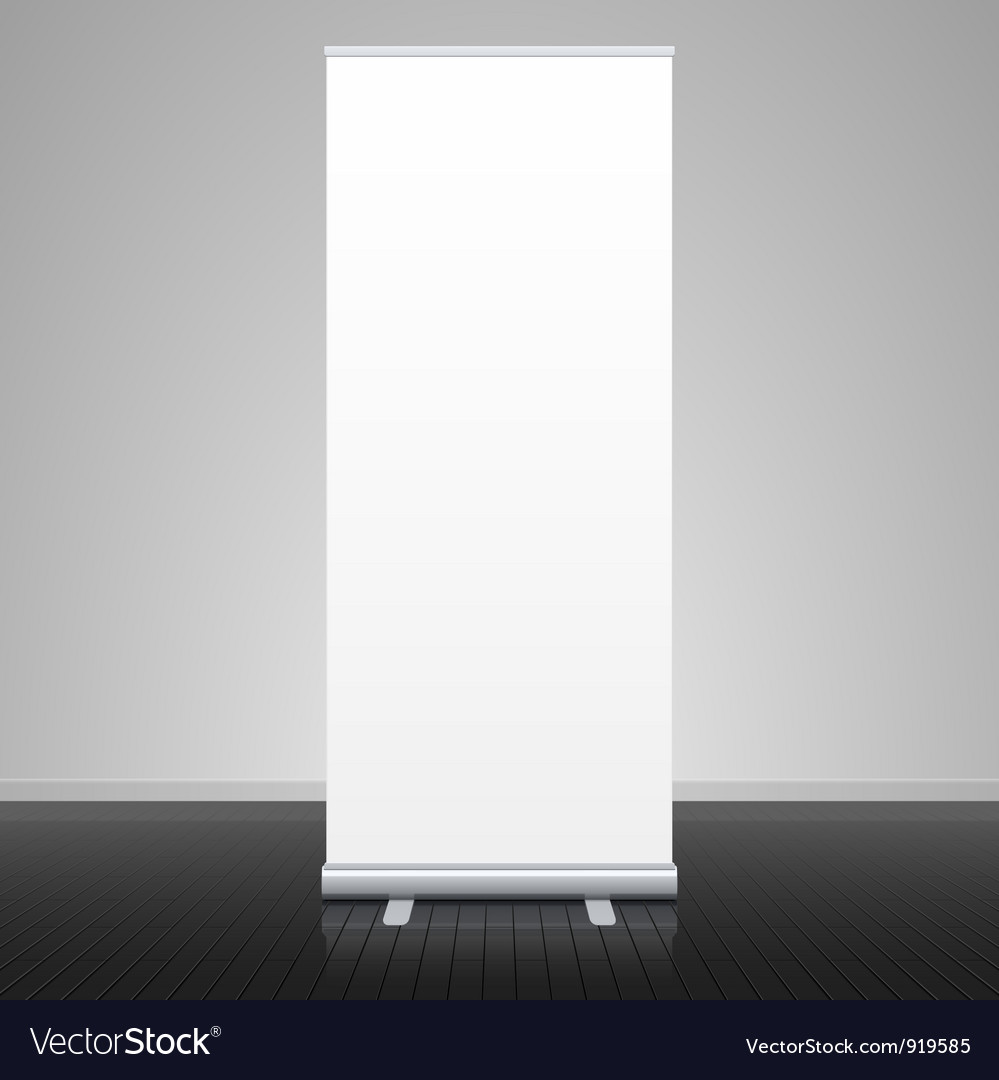 Roll up banner stand vector | Price: 3 Credit (USD $3)