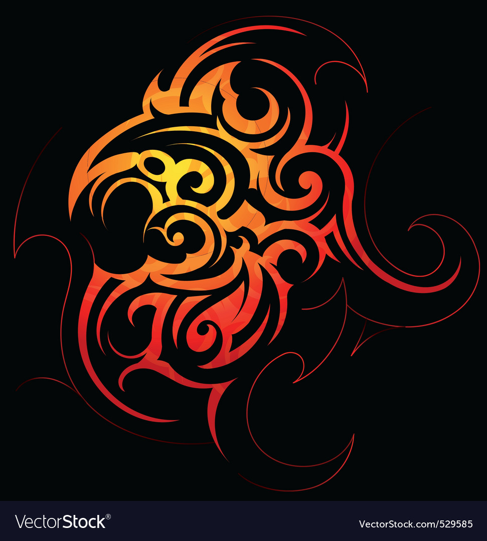 Tribal tattoo vector | Price: 1 Credit (USD $1)
