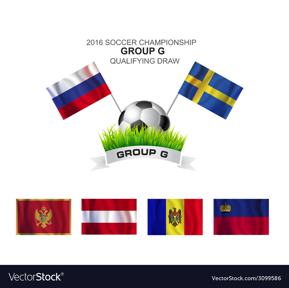 2016 soccer championship group g qualifying draw vector | Price: 1 Credit (USD $1)