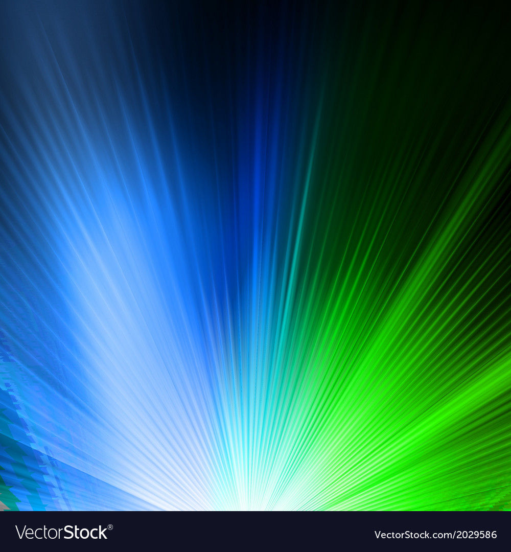 Abstract background in green blue tones eps 10 vector | Price: 1 Credit (USD $1)