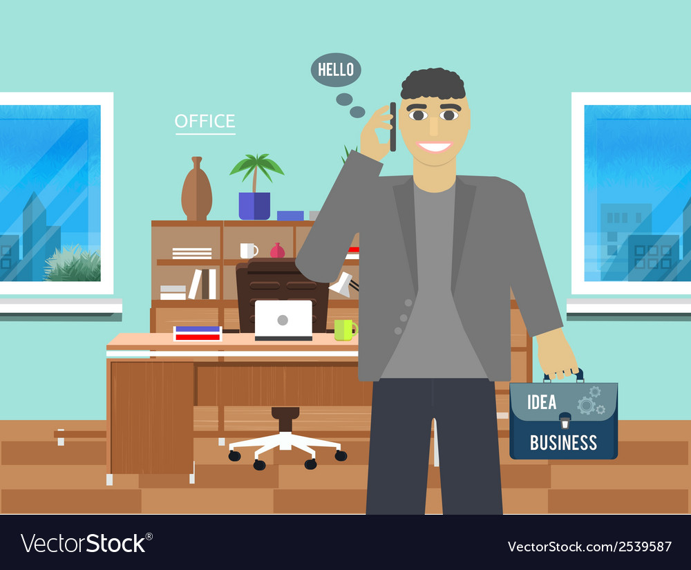 Business idea concept vector | Price: 1 Credit (USD $1)
