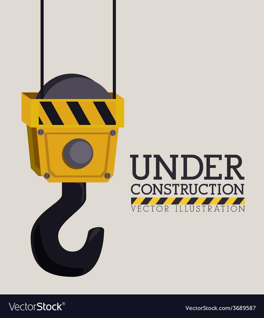 Construction design ilustration vector | Price: 1 Credit (USD $1)