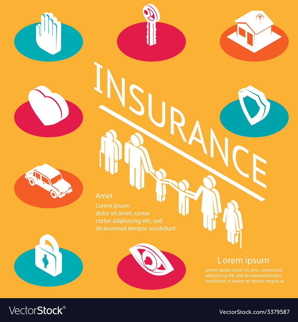 Family insurance concept vector | Price: 1 Credit (USD $1)