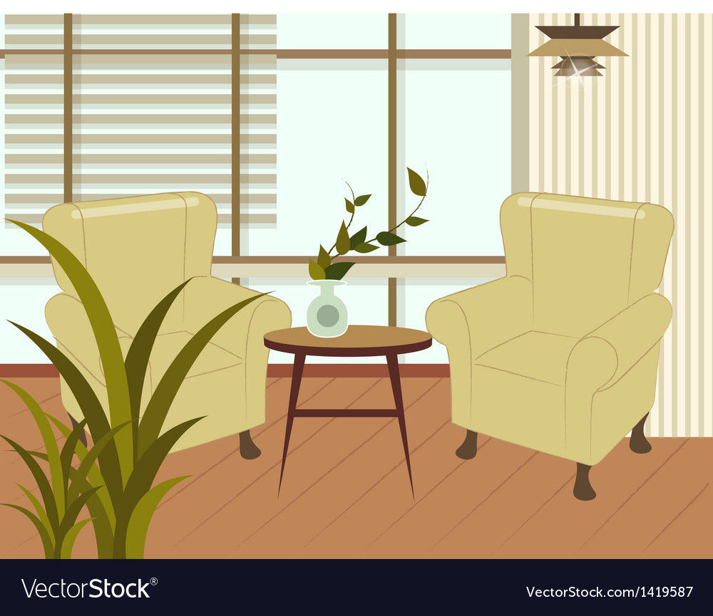 Home interior background vector | Price: 1 Credit (USD $1)