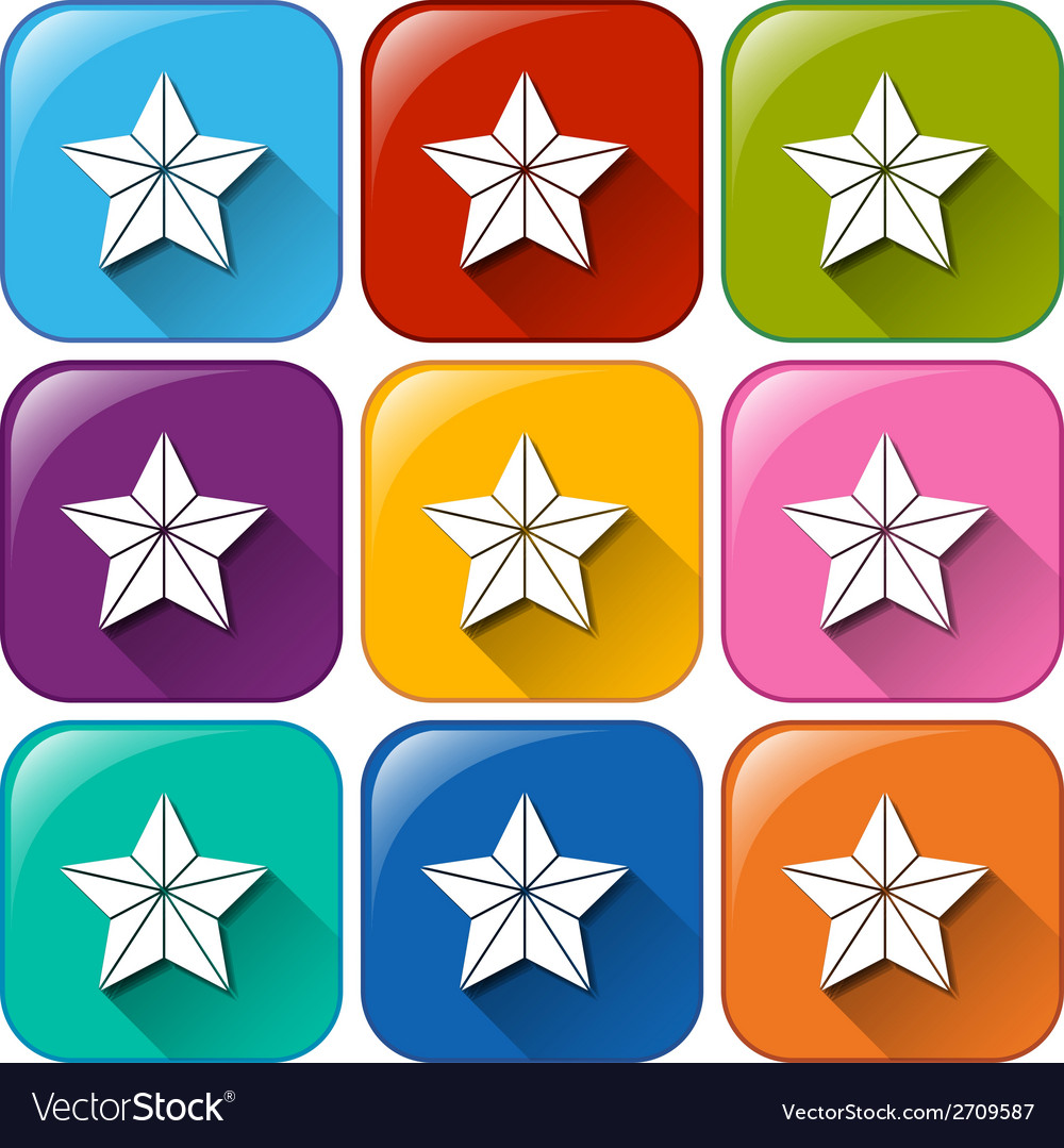 Star icons vector   Price: 1 Credit (USD $1)