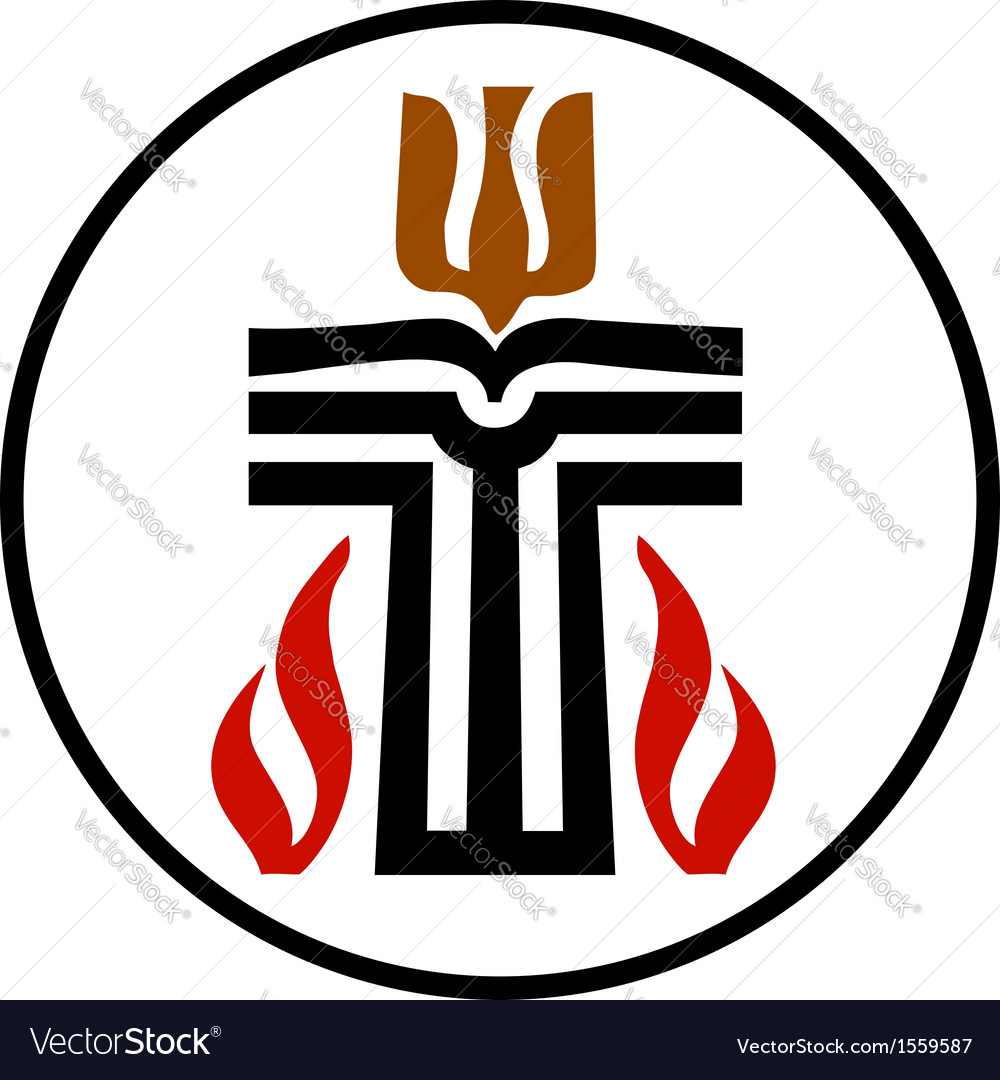 Symbol of presbyterian religion vector | Price: 1 Credit (USD $1)