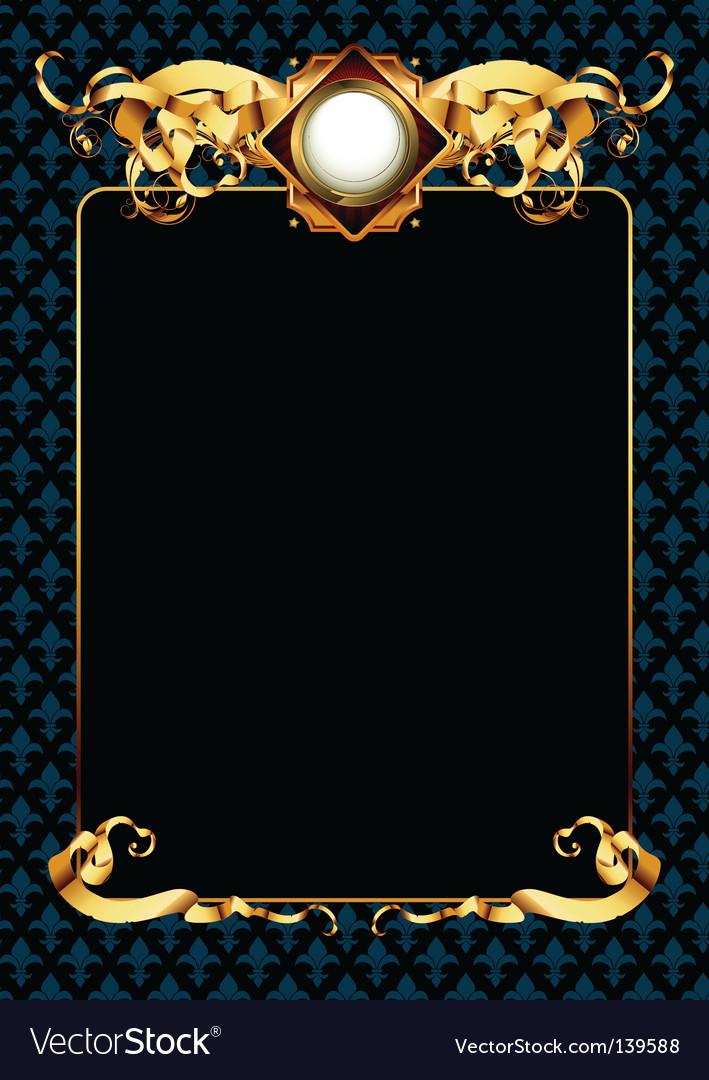 Ornate frame vector | Price: 1 Credit (USD $1)