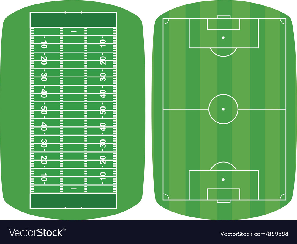 Set sport fields vector | Price: 1 Credit (USD $1)