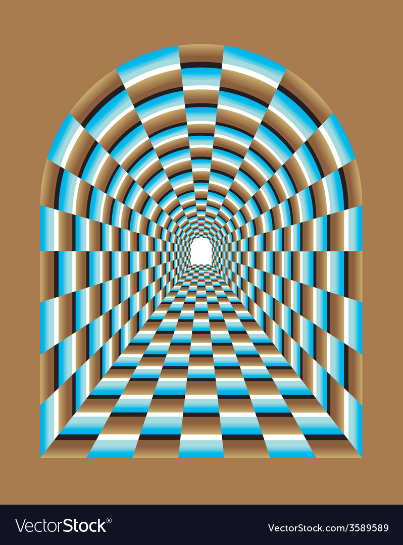 Abstract tunnel vector | Price: 1 Credit (USD $1)