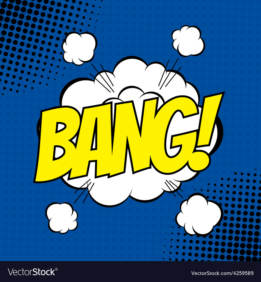 Bang comic vector | Price: 1 Credit (USD $1)