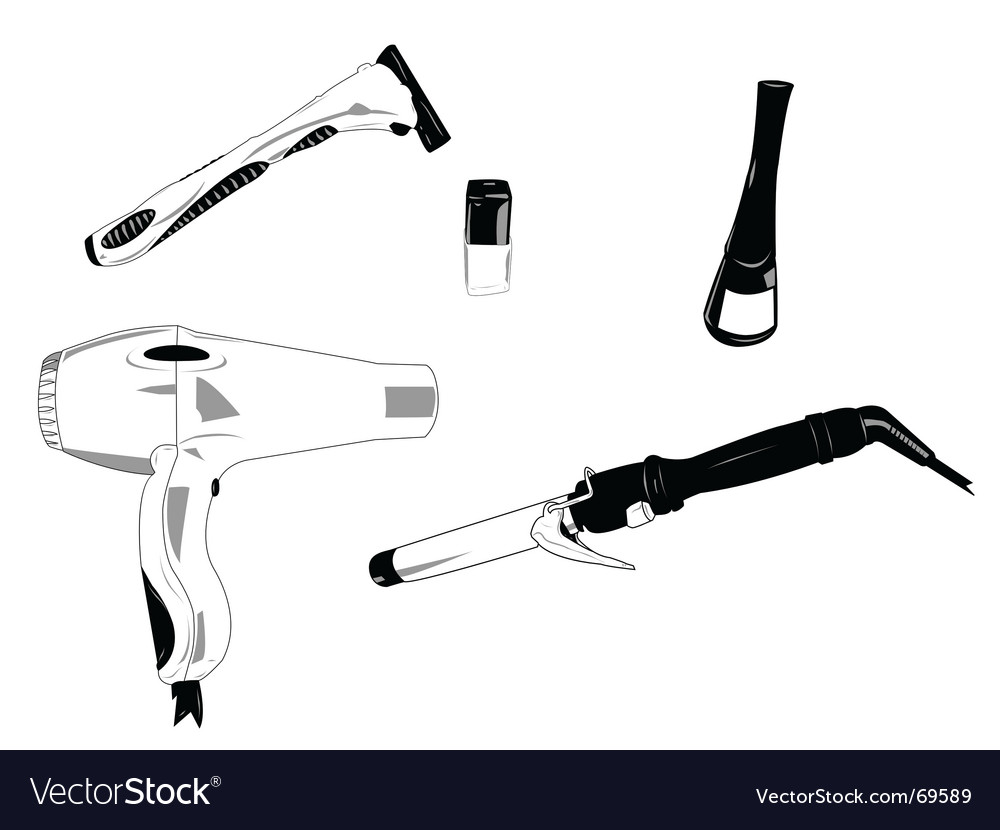 Bathroom objects vector   Price: 1 Credit (USD $1)