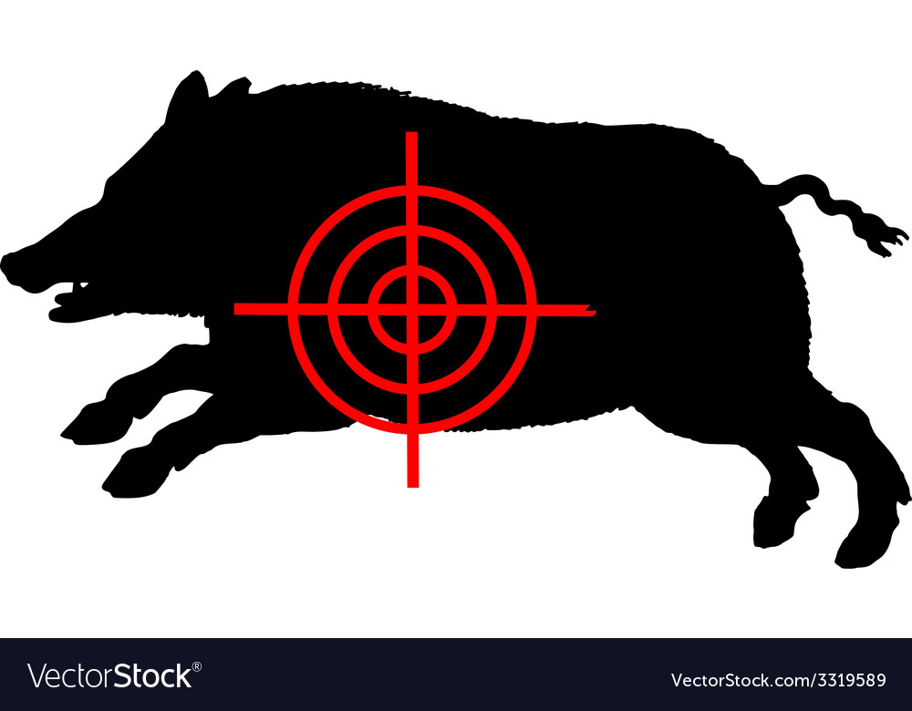 Boar crosslines vector | Price: 1 Credit (USD $1)