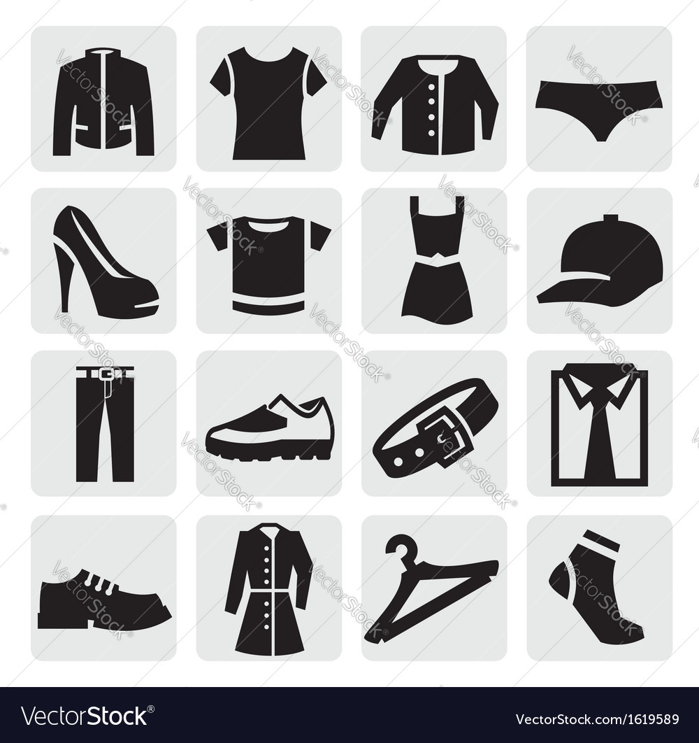 Clothes icon vector | Price: 1 Credit (USD $1)