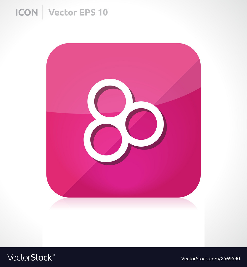 Circles icon vector | Price: 1 Credit (USD $1)