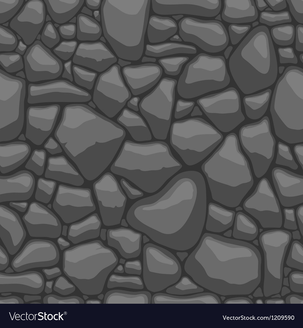 Stone seamless vector