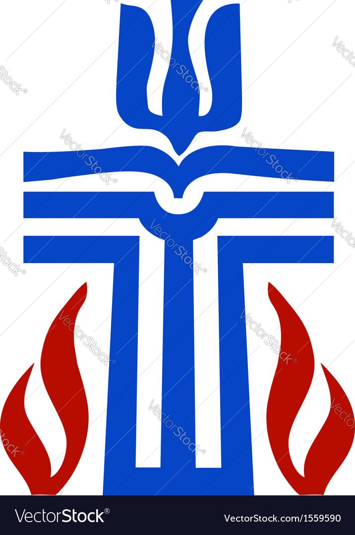 Symbol of presbyterian religion vector | Price: 1 Credit (USD $1)
