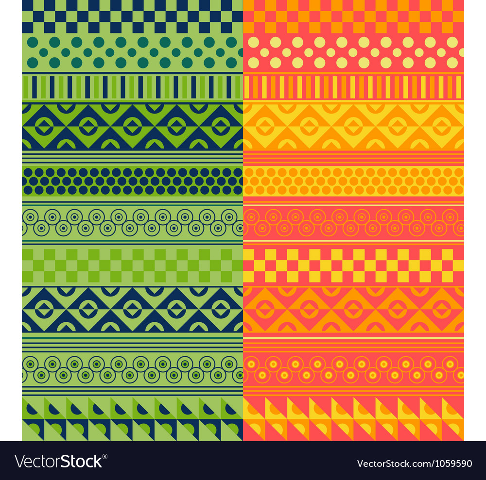 Texture with geometrical ornaments vector | Price: 1 Credit (USD $1)