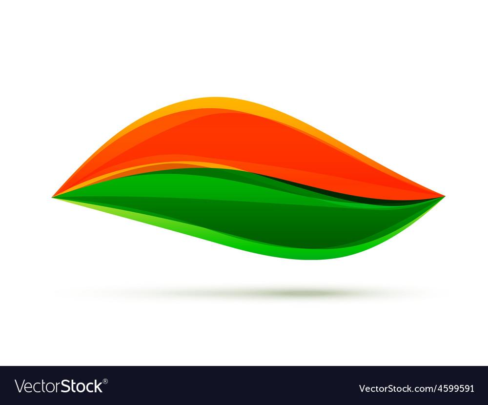 Indian flag design vector | Price: 1 Credit (USD $1)