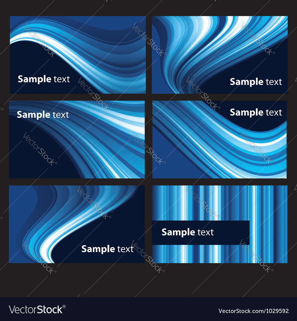 Abstract light background set vector | Price: 1 Credit (USD $1)