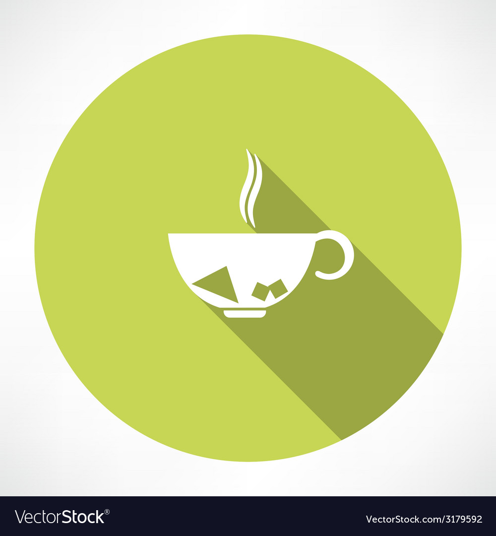 Cup of tea vector | Price: 1 Credit (USD $1)