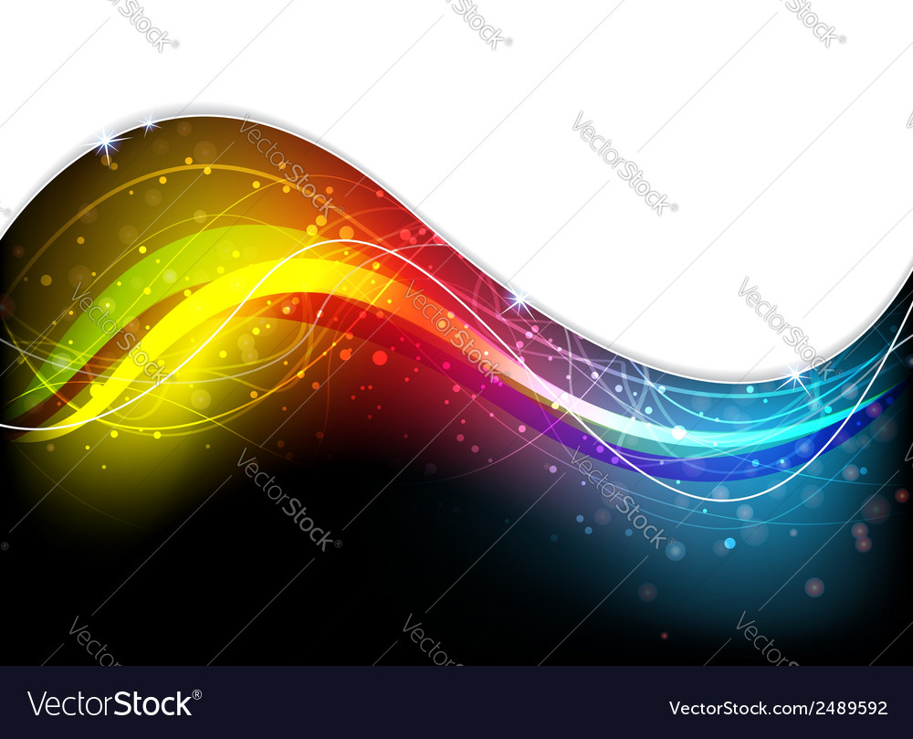 Mysterious spectral waves vector | Price: 1 Credit (USD $1)