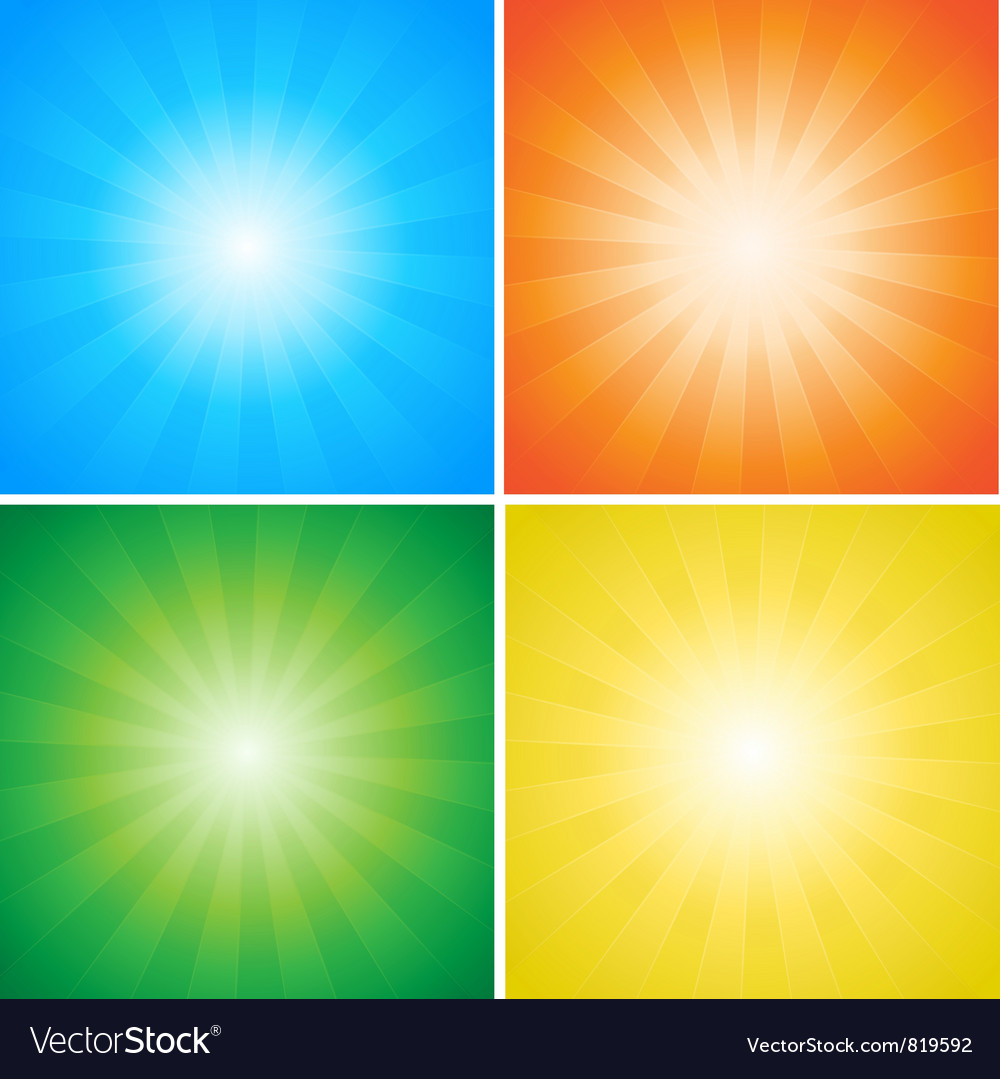 Sunburst rays vector | Price: 1 Credit (USD $1)