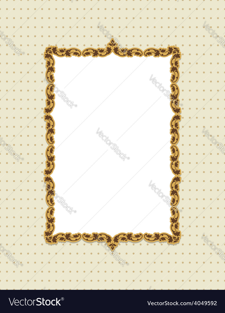 Vintage card design with tag scrap template vector | Price: 1 Credit (USD $1)
