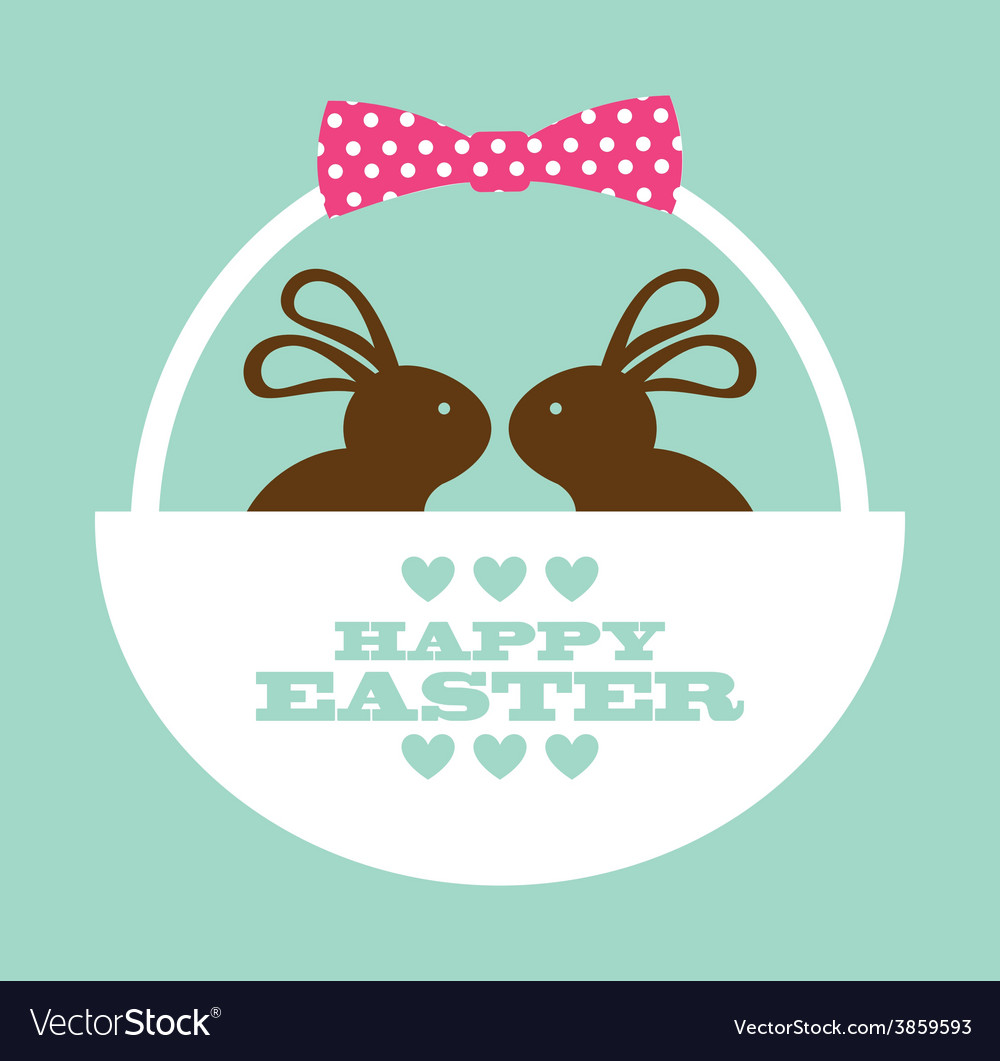 Happy easter vector | Price: 1 Credit (USD $1)