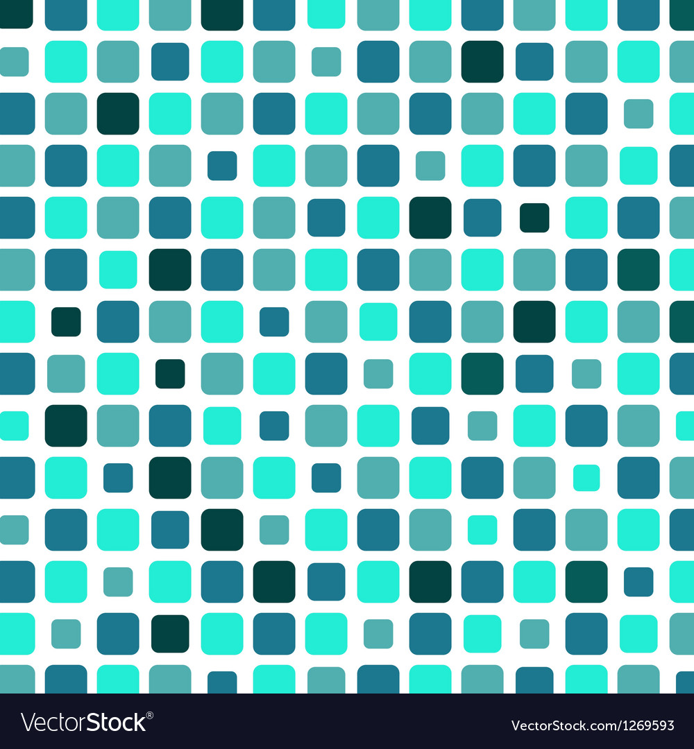 Marine square tile mosaic background vector | Price: 1 Credit (USD $1)