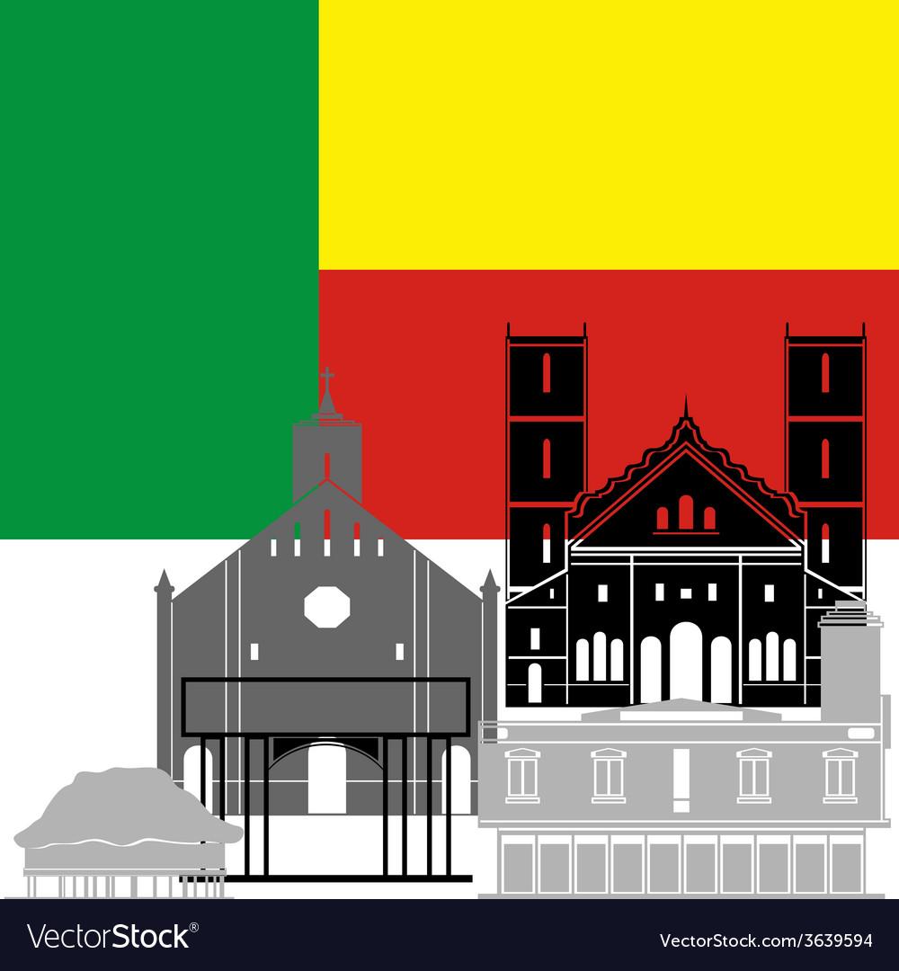Benin vector   Price: 1 Credit (USD $1)