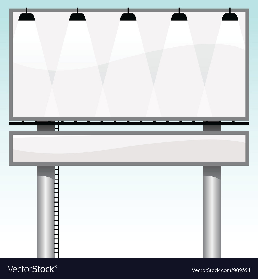 Billboards vector | Price: 1 Credit (USD $1)