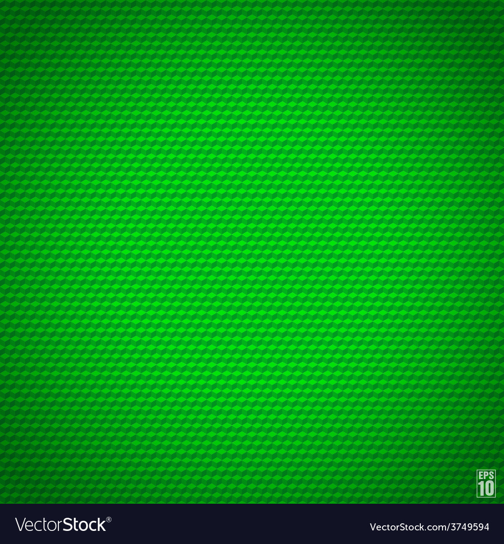 Green seamless cubic texture vector | Price: 1 Credit (USD $1)