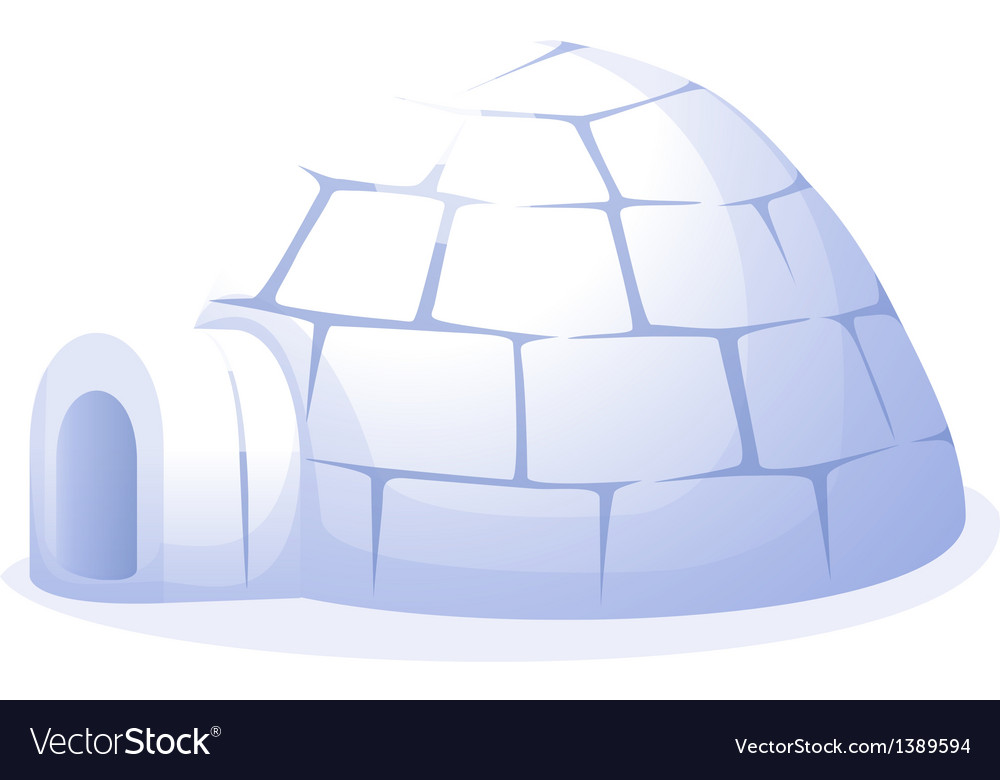 Icon igloo vector | Price: 1 Credit (USD $1)