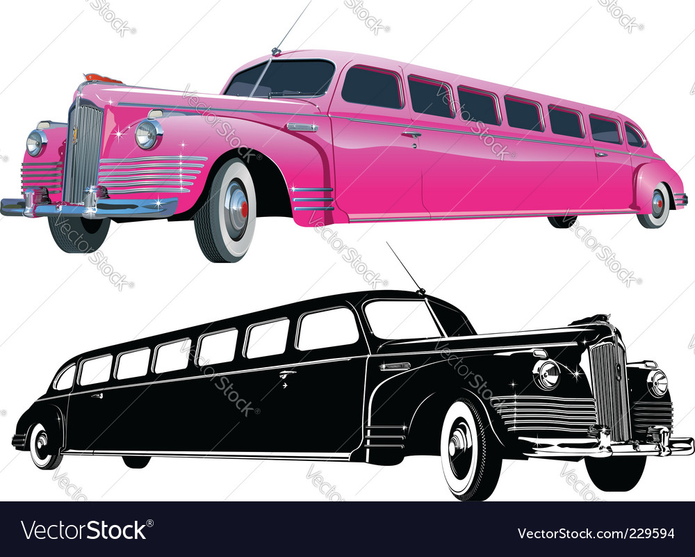 Stretch limos vector | Price: 5 Credit (USD $5)