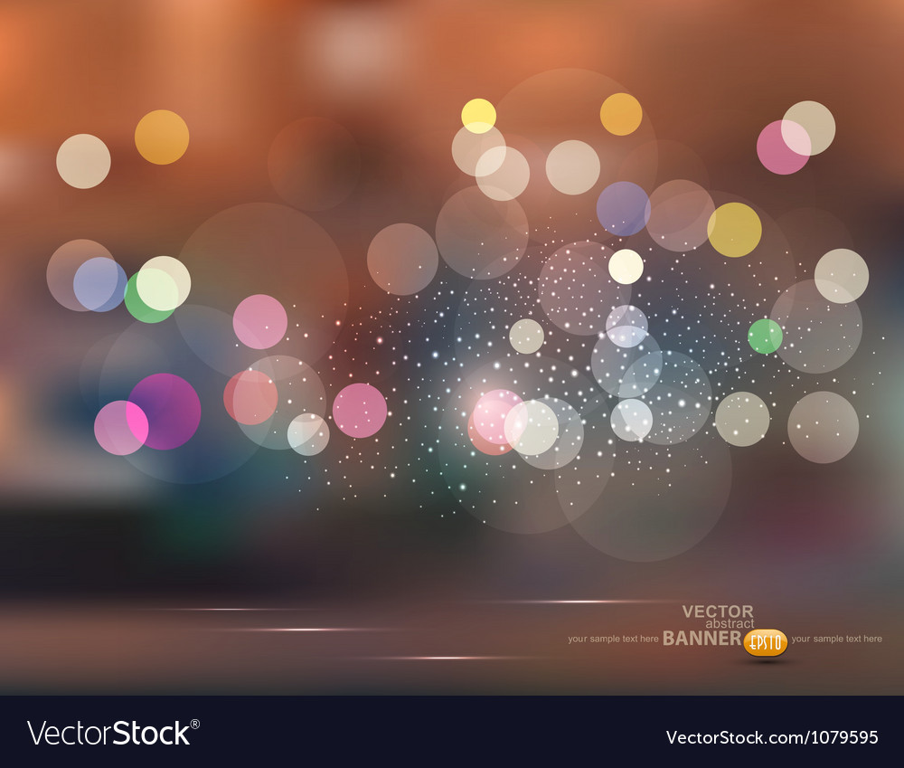 Abstract backgroundholiday evening city vector | Price: 1 Credit (USD $1)
