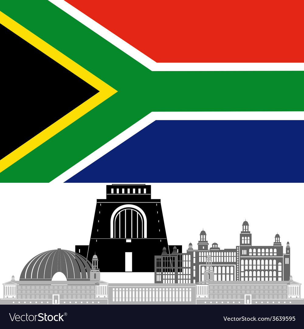 Republic of south africa vector | Price: 1 Credit (USD $1)