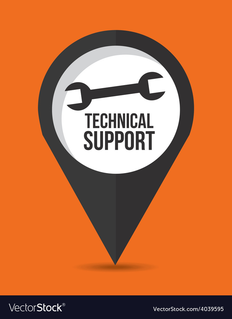 Technical support vector | Price: 1 Credit (USD $1)