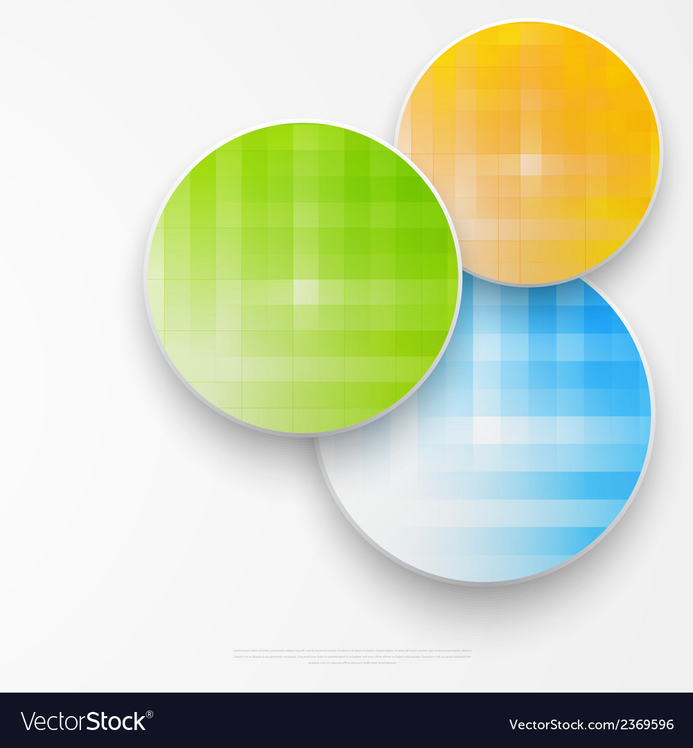 Beautiful color grunge design elements circle vector | Price: 1 Credit (USD $1)