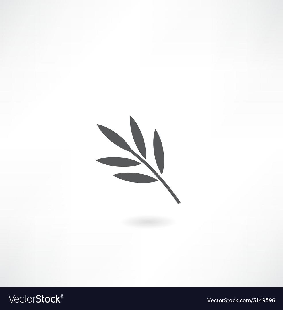 Leaf tree icon vector | Price: 1 Credit (USD $1)