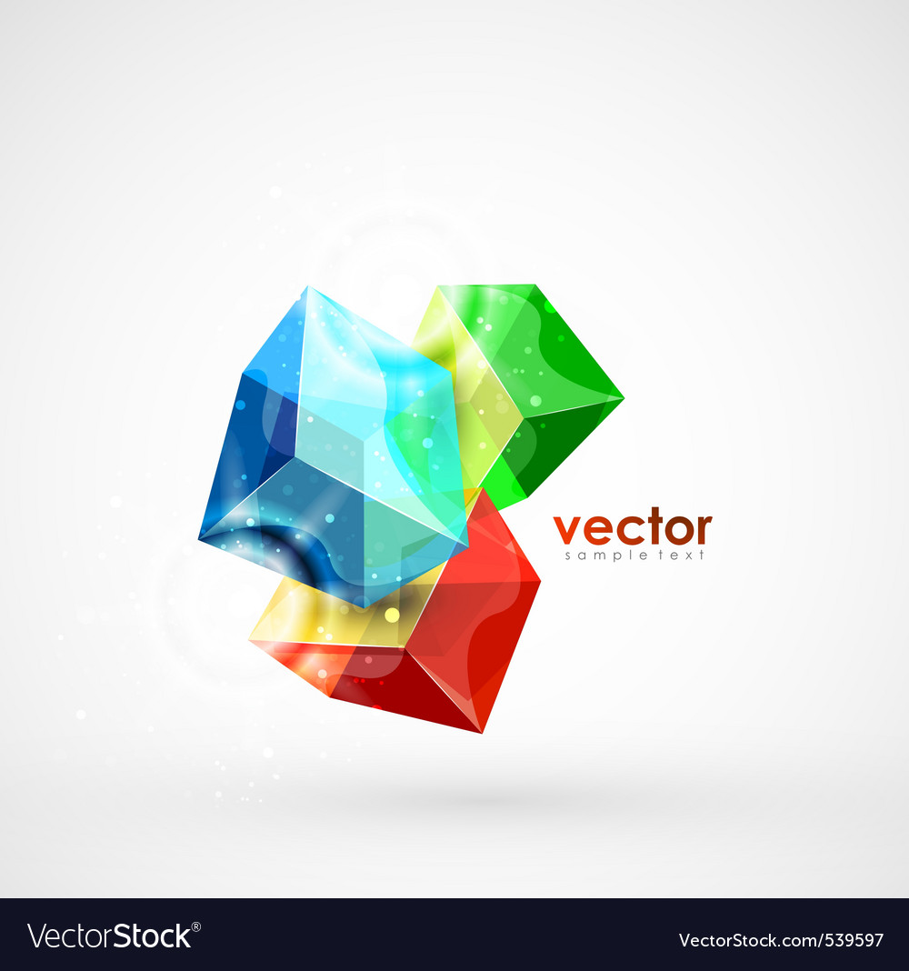 Cube mania vector | Price: 1 Credit (USD $1)