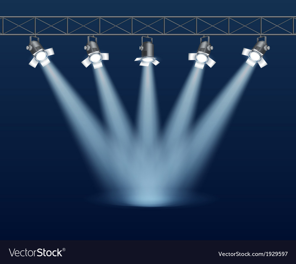 Floodlight vector | Price: 1 Credit (USD $1)