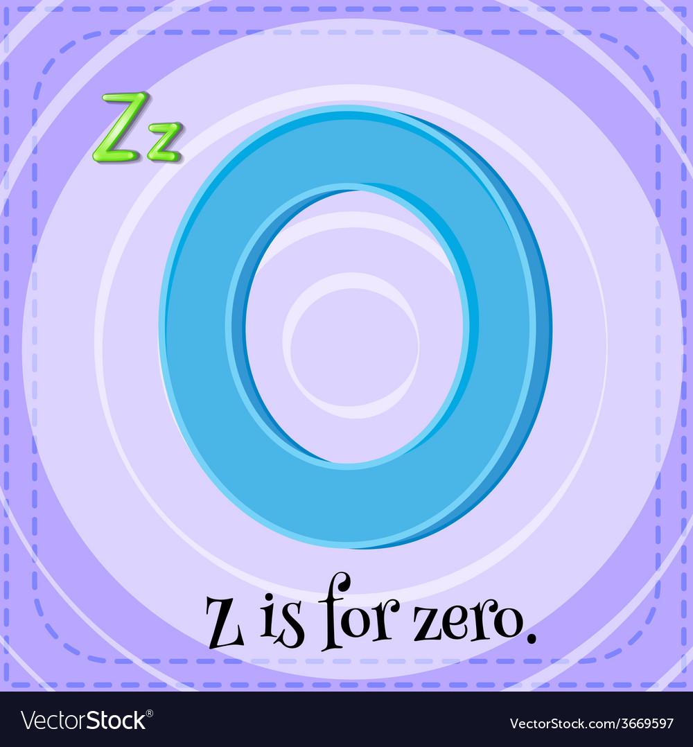 Letter z vector | Price: 1 Credit (USD $1)