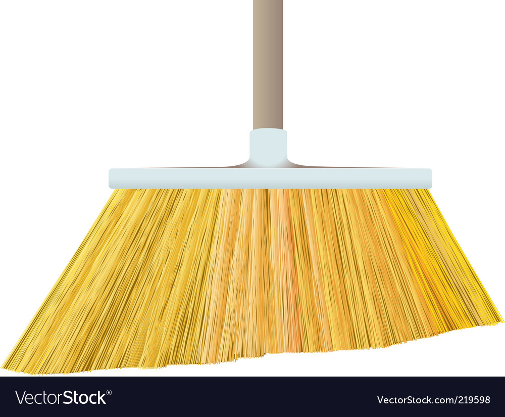 Broom vector | Price: 1 Credit (USD $1)
