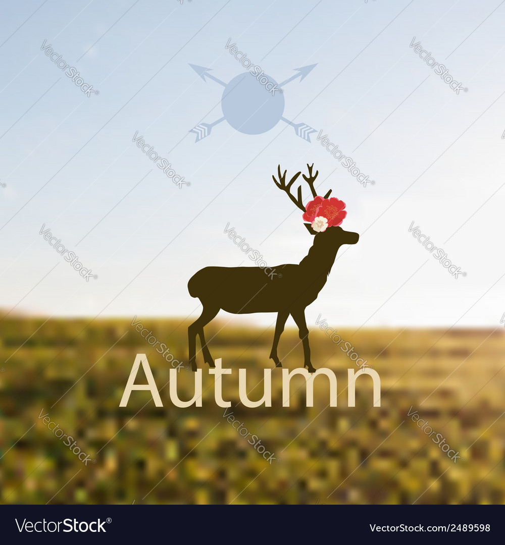 Depicting autumn vector | Price: 1 Credit (USD $1)