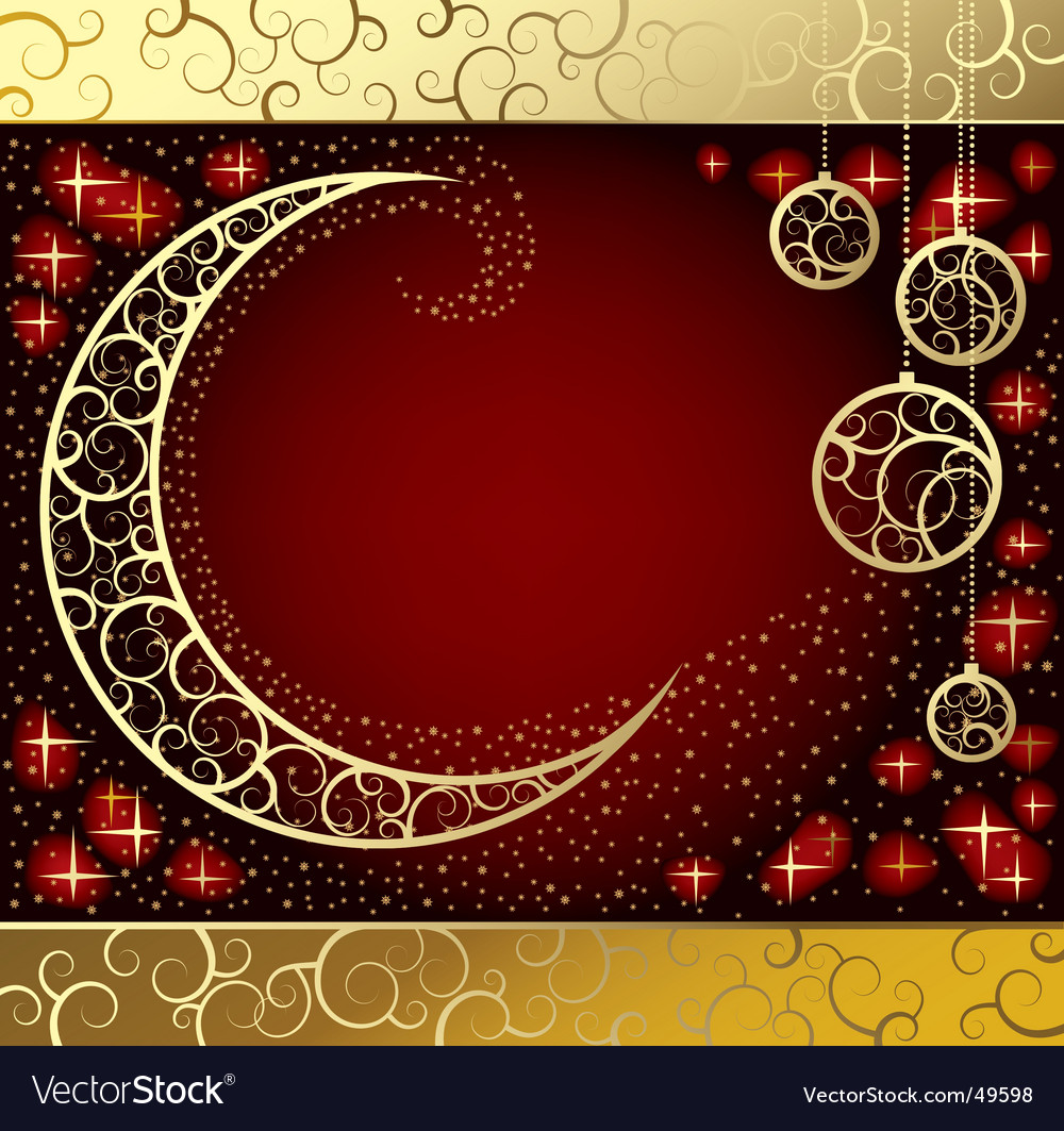 Moon illustration vector | Price: 1 Credit (USD $1)