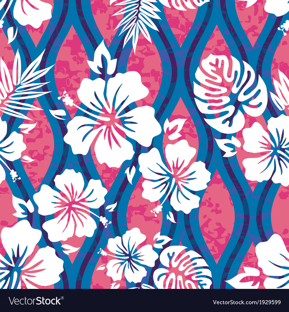 Hawaiian shirt pattern vector | Price: 1 Credit (USD $1)